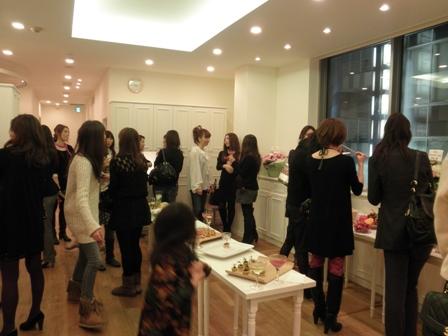 銀座店Opening Party☆_c0071924_11531498.jpg
