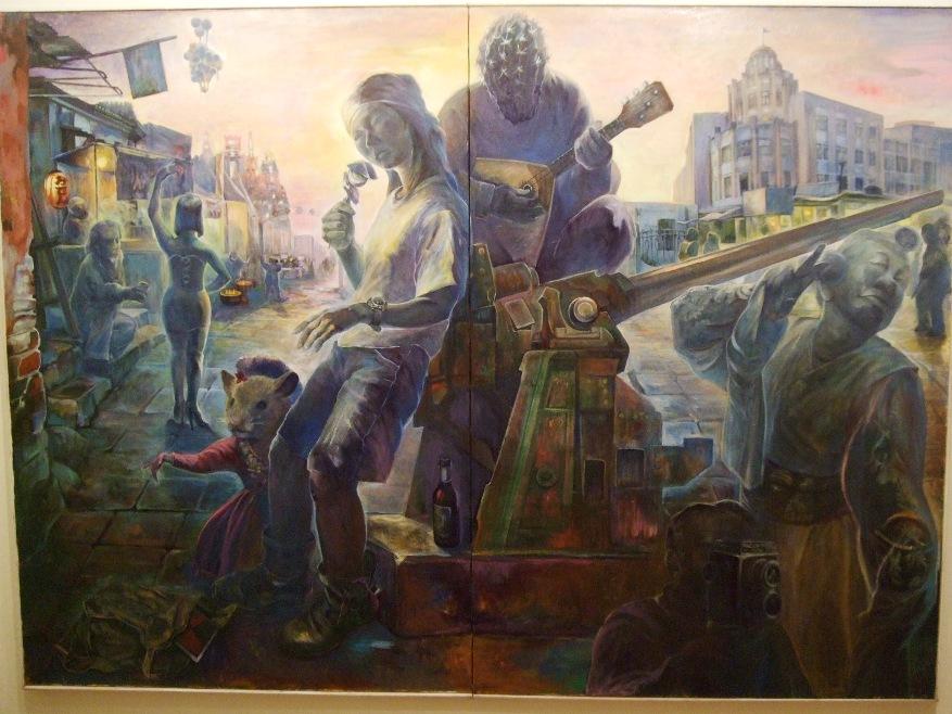 1192) たぴお 「水戸麻記子・絵画展  MITORAMAFULL」 2月8日(月)~2月13日(土)  _f0126829_11253247.jpg