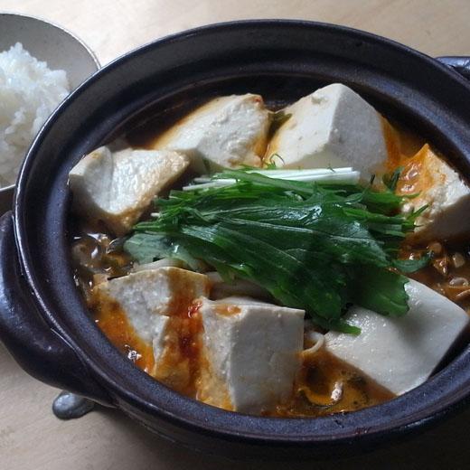 豚キムチ納豆豆腐鍋_a0118345_1322166.jpg