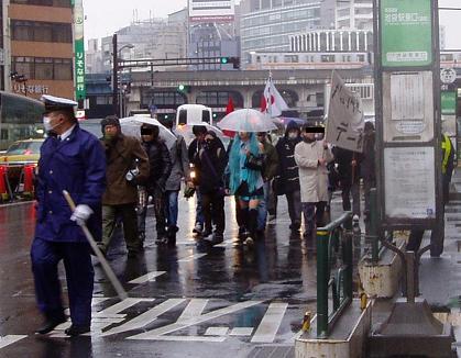 革命的非モテ同盟「2.13バレンタイン粉砕デモ」@渋谷 顛末記_f0030574_19453624.jpg