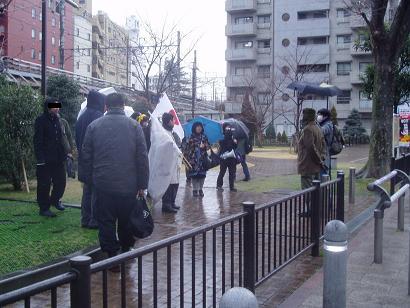 革命的非モテ同盟「2.13バレンタイン粉砕デモ」@渋谷 顛末記_f0030574_2052547.jpg