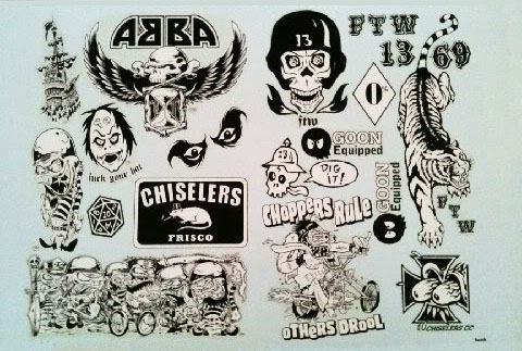 Decal Sheet by Frank Kozik & Dirty Donny_c0155077_19141690.jpg