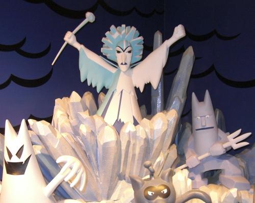 氷 の 女王 アンパンマン