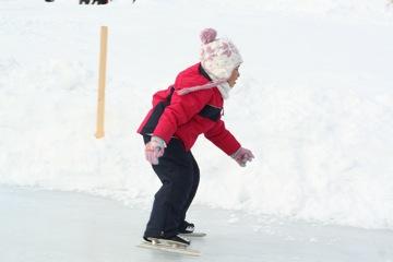 ほの香のスケート記録会。_b0047734_702711.jpg