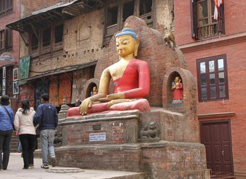 ネパールを歩く 11カトマンドウで_e0048413_2343661.jpg