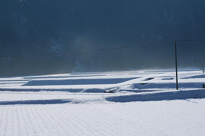 Winter Blue~電柱のある光景~_c0067040_22483634.jpg
