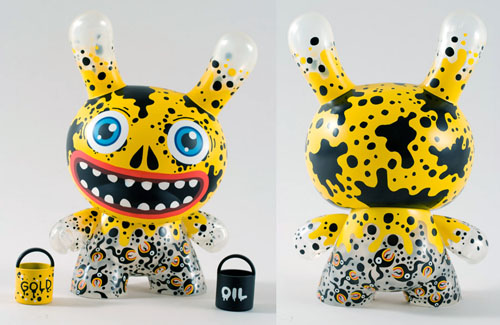 Oil Slick Dunny 8-inch by Skwak_e0118156_23105195.jpg