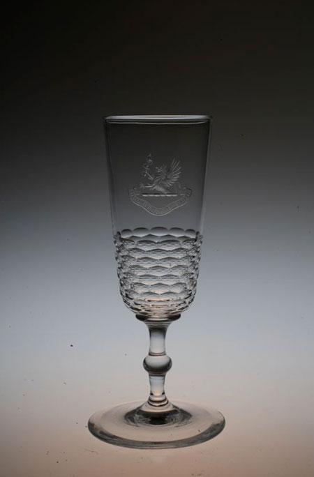 Baccarat 紋章入り Champagne Flute_c0108595_3365133.jpg