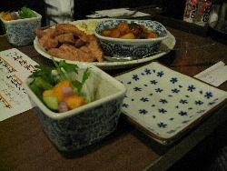 酒の友田(久留米市)で柿豚料理会。_f0018099_18574298.jpg