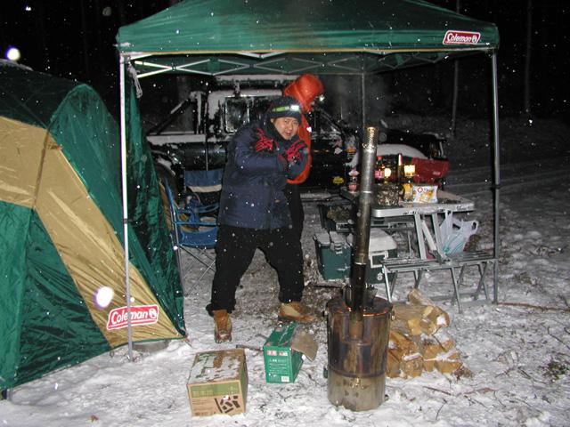 男魂キャンプ 桐生アタック2010冬  その1_b0152452_2461386.jpg