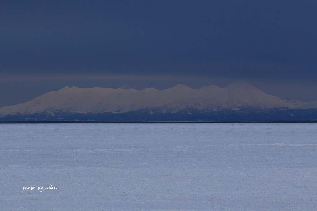 雪の降る中の流氷ノロッコ号より~_a0039860_18244282.jpg