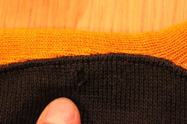 30\'s ブラック×オレンジ ウールスウェット!!_d0121303_1992172.jpg