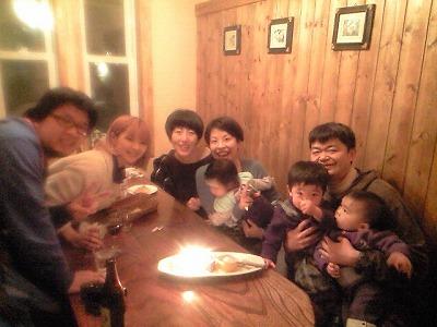 個室でお誕生日祝い_f0111415_2333577.jpg