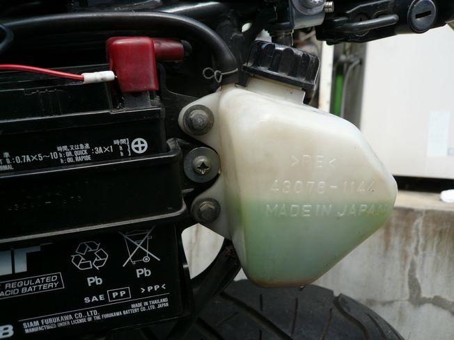 バイクメンテナンス 冷却水交換編_f0097683_1744189.jpg