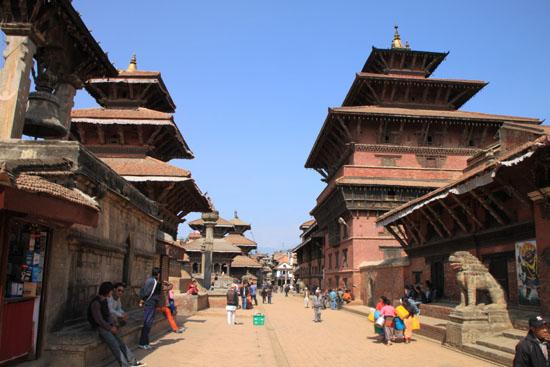 ネパールを歩く 20 パタンの旧王宮_e0048413_21251578.jpg