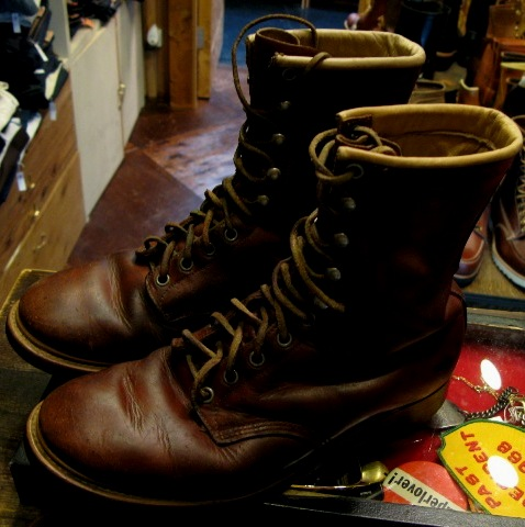 50-60'S USED J.C PENNY CO WORK BOOTS _c0144020_15245154.jpg