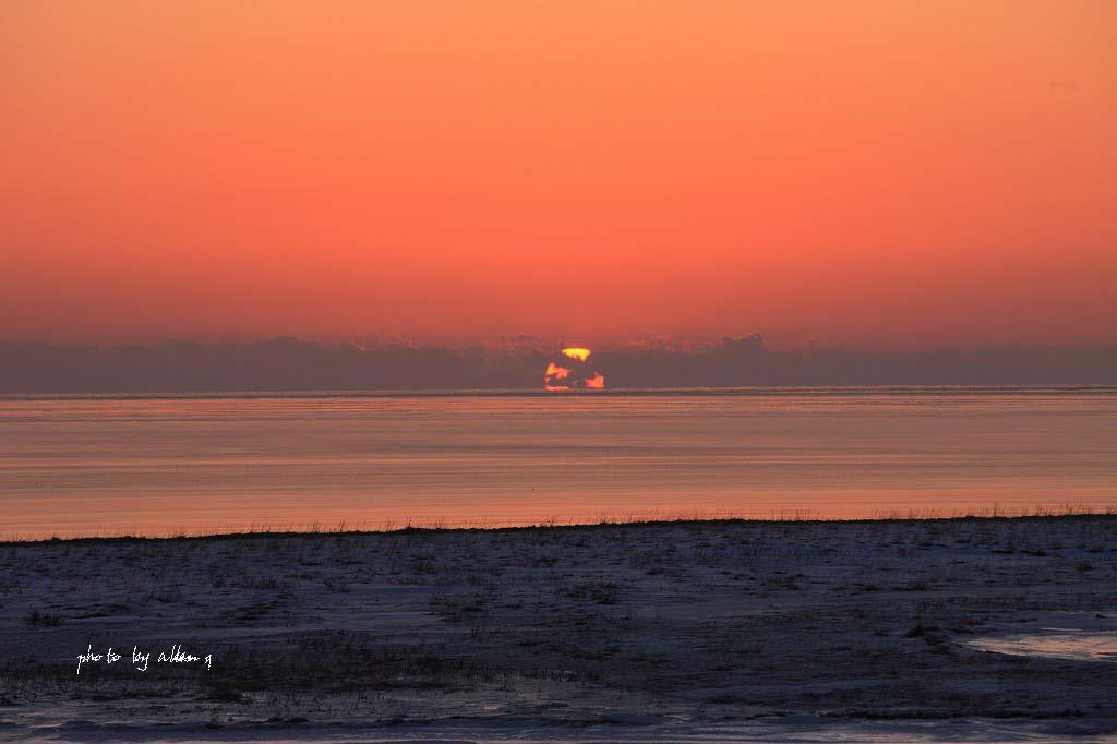 尾岱沼の朝陽より~_a0039860_1881072.jpg