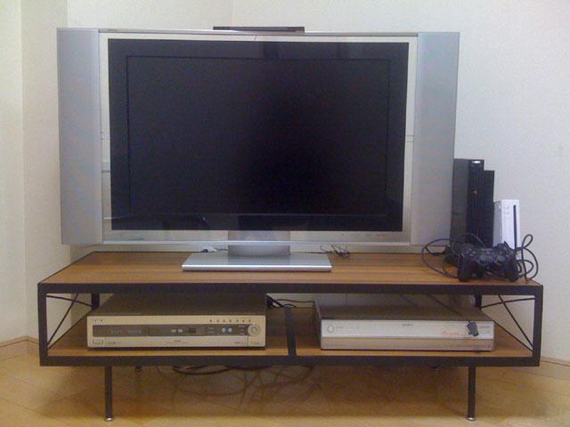 TV Stand/Coffee Table[SF-02 Teak]_a0161631_16255480.jpg
