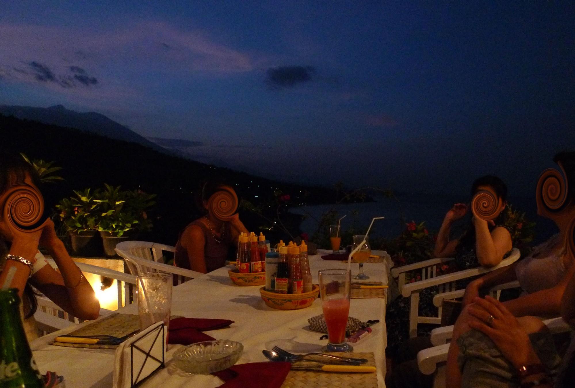 絶景レストランで見る夕景~Waeni\'s_e0142189_18554521.jpg