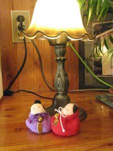 館内に飾られたひな人形達_e0120896_2015034.jpg