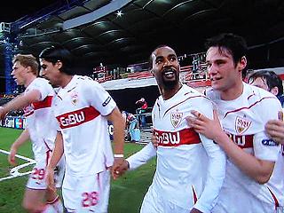 シュツットガルト×バルセロナ UEFAチャンピオンズリーグ 09-10 1/16ファイナル 1stレグ_c0025217_20515416.jpg