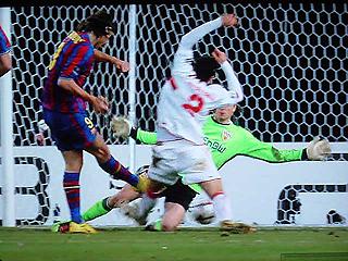 シュツットガルト×バルセロナ UEFAチャンピオンズリーグ 09-10 1/16ファイナル 1stレグ_c0025217_2052126.jpg