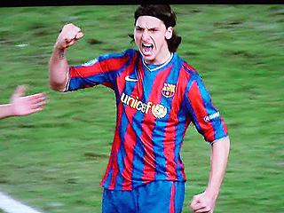 シュツットガルト×バルセロナ UEFAチャンピオンズリーグ 09-10 1/16ファイナル 1stレグ_c0025217_2052924.jpg