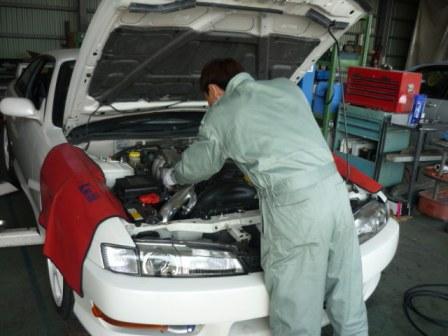 今日の店長 シルビア納車整備中_c0213517_15494779.jpg
