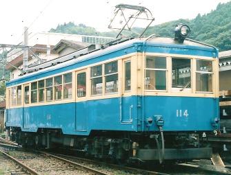 箱根登山鉄道 モハ114_e0030537_2344599.jpg