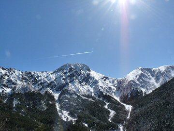 輝く八ヶ岳の峰々_f0019247_2240578.jpg