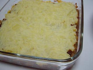 挽き肉とポテトの重ねオーブン焼き_c0025217_11253520.jpg