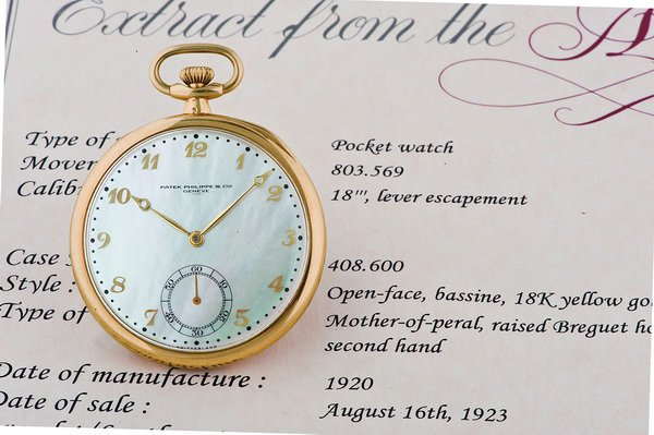 Pocket watch Mother-of-pearl Dial_c0128818_23513769.jpg
