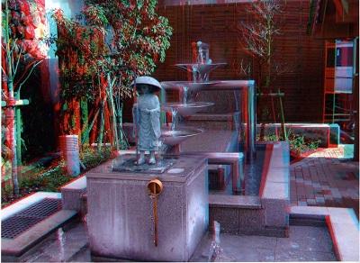 /// 夢千代像の3D立体写真をいただきました ///_f0112434_23504965.jpg