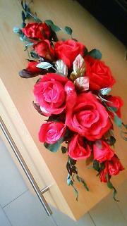 赤バラのアレンジ_a0153945_262392.jpg