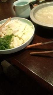博多水炊きを食べましたぁ_e0114246_161470.jpg