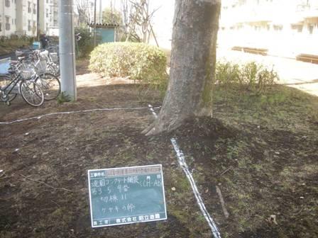 国立富士見台第二・第三団地 位置出し_b0172896_16143086.jpg