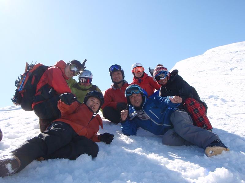 野伏ケ岳BCスノーボーディング20100224_c0147398_7563087.jpg