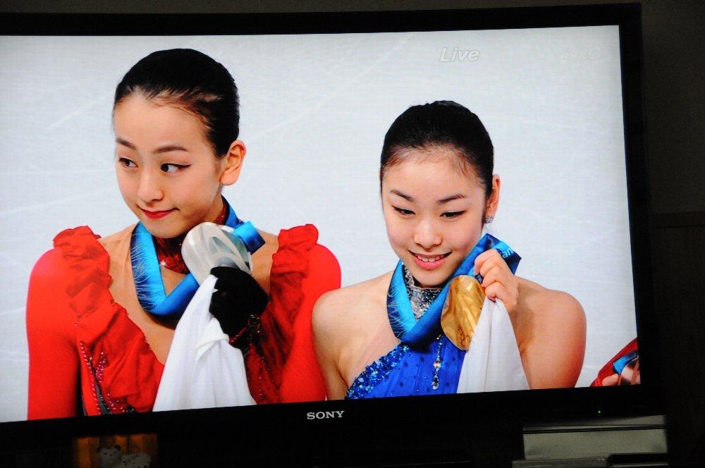 真央ちゃん銀メダルおめでとう_e0087201_18375797.jpg