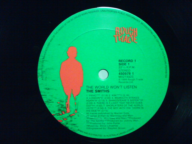 The World Won\'t Listen / The Smiths_c0104445_2332382.jpg