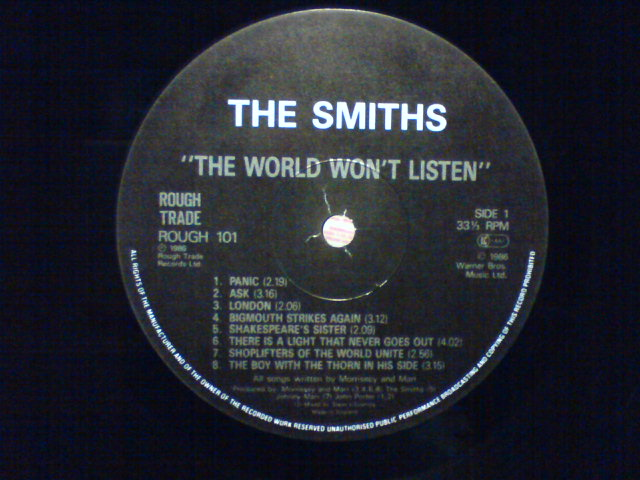The World Won\'t Listen / The Smiths_c0104445_233834.jpg