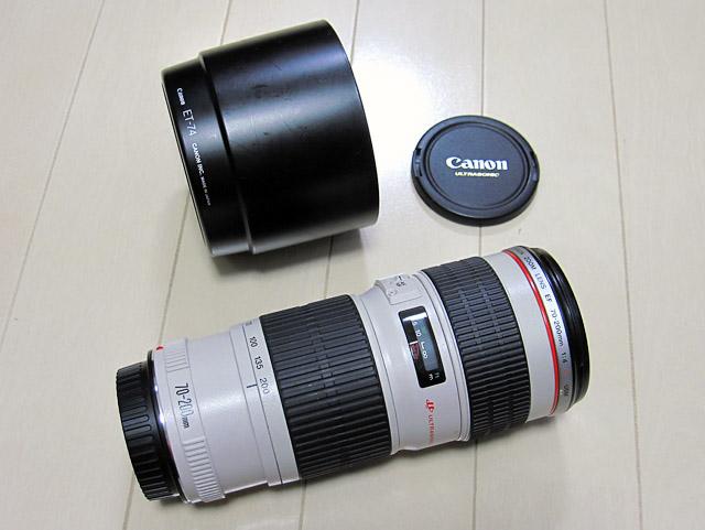 譲ります。 キヤノン Canon EF70-200mmF4L USM 美品・フード付_b0042282_0372851.jpg