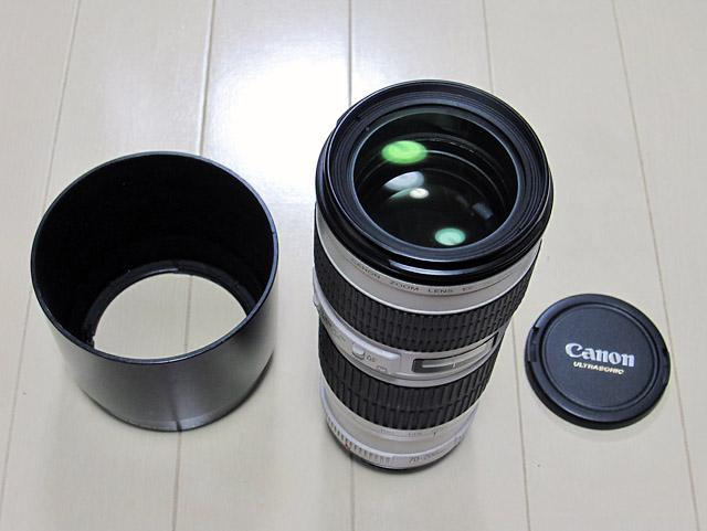 譲ります。 キヤノン Canon EF70-200mmF4L USM 美品・フード付_b0042282_037386.jpg