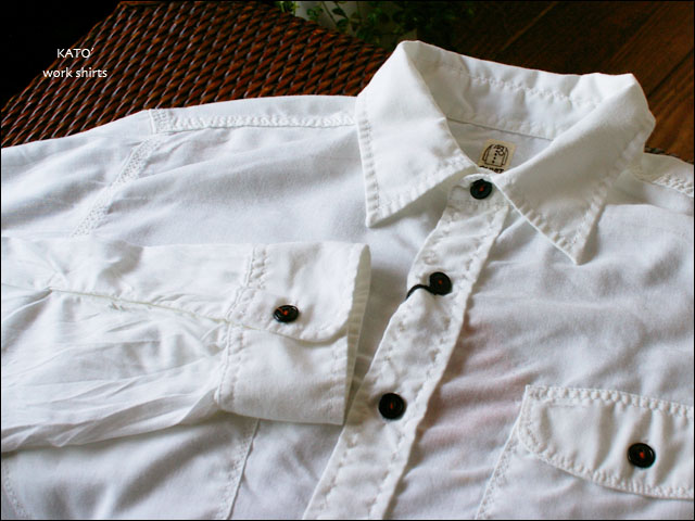 KATO\'DENIM [カトーデニム] WORK SHIRTS [ワークシャツ] _f0051306_18485685.jpg