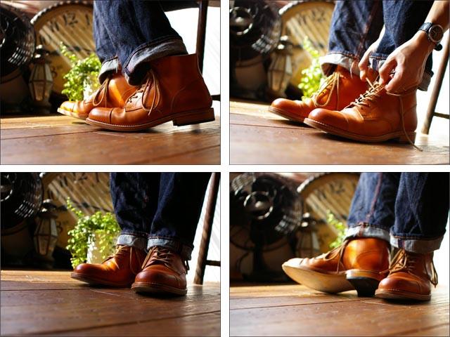 moto leather&silver[モトレザー] gt1 straght tip leather boots [ストレートチップレザーブーツ]_f0051306_1961253.jpg