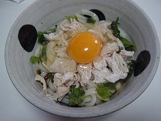 ささみ卵うどん_c0025217_15573977.jpg