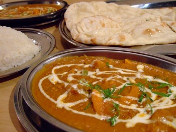 /// 今日のおばんざいはインド料理スパイス王国の「マハラジャコース」です ///_f0112434_23181199.jpg