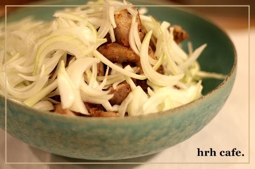 カレー用のお肉で、洋風唐揚げ。_b0165178_10334743.jpg