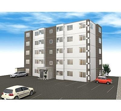 都市景観形成地域の新賃貸マンション_a0158797_2346233.jpg