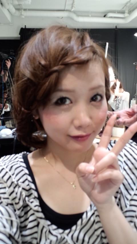 ヘアアレンジ本撮影~in apish jeno~_f0195703_2513614.jpg