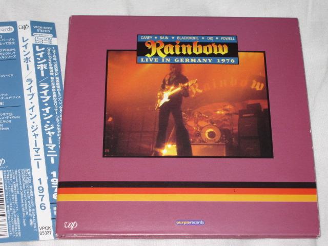発掘その186 RAINBOW / LIVE IN GERMANY 1976_b0042308_23552219.jpg